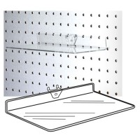 Accessories Ss-03 - Clear Acrylic Pegboard Shelf