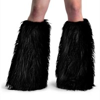 Accessories Yeti-01 - Black Faux Fur