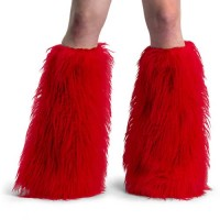 Accessories Yeti-01 - Red Faux Fur
