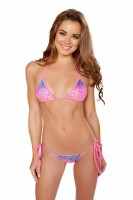 2pc Printed Bikini Set