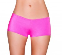3329 Hot Pink - Low Cut, Full Covered Shorts