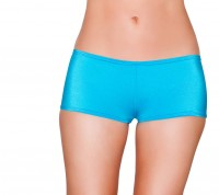 3329 Turquoise - Low Cut, Full Covered Shorts