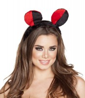 Red and Black Lady Bug Head Piece