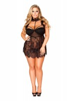 Babydoll with Sheer G-String