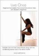 X-Pole Live Once Pole Dance DVD - Beginner/Intermediate